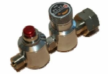 Gasregulator met veiligheidsstop 1.5-3.5 bar