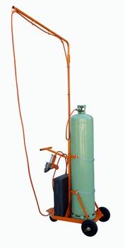 Ripack Gas flessenwagen voor flessen van 35 KG